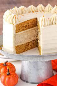 Pumpkin Layer Cheesecake by Pumpkin Cheesecake Cake Life Love And Sugar