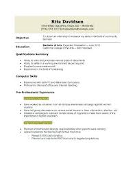Resume Template For College Graduate Examples Non Graduates Manqal Hellenes Information Templates