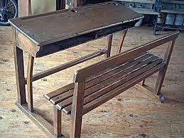 bureau ecolier en bois bureau d écolier ancien bois de qualité ées 1940