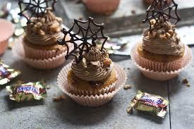 What Kinds Of Pumpkins Are Edible by Pumpkin Snickers Cupcakes With Chocolate Buttercream And Edible