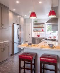 Accent Tiles For Kitchen Backsplash Backsplash With Accent Tile Kitchen Ideas Photos Houzz