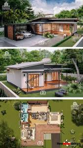 100 Villa House Design Modern Style Single Storey With Two Bedrooms