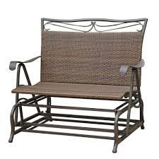Headrick Iron Wicker Resin Patio Glider Bench   Patio Glider ... Details About Garden Glider Chair Tray Container Steel Frame Wood Durable Heavy Duty Seat Outdoor Patio Swing Porch Rocker Bench Loveseat Best Rocking In 20 Technobuffalo The 10 Gliders Teak Mahogany Exclusive Fniture Accsories Naturefun Kozyard Fleya Smooth Brilliant Outsunny Double How To Tell If Metal And Decor Is Worth Colorful Mesh Sling Black Buy Chairoutdoor Chairrecliner Product On Alibacom Silla De Acero Con Recubrimiento En Polvo Estructura