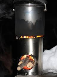 DIY TiRStove A 450g Titanium Rocket Stove