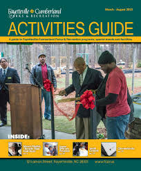 Spirit Halloween Fayetteville Nc 2015 by P U0026r Activities Guide March August 2015 By City Of Fayetteville