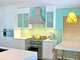 watery green glass subway tile in surf modwalls lush 1x4 tile