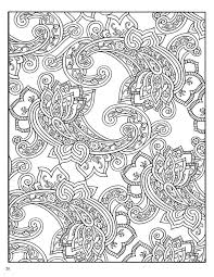Paisley Coloring Pages Vintage Designs Book