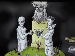 Halloween Wars Judges Names by Zombie Wedding Halloween Wars