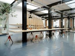 Parisian warehouse turned modern office space and studio