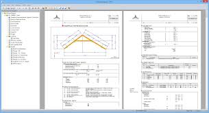 rx timber roof design of roofs acc to ec 5 dlubal software