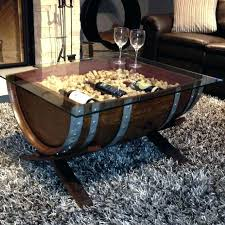 Wine Coffee Table And Creative Barrel 6 Crate Nifty