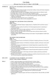 Download Transportation Supervisor Resume Sample As Image File