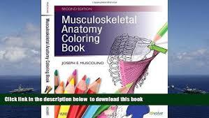 Musculoskeletal Anatomy Coloring Book Pdf Download E