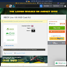 $100 Xbox Live Credit - $72.21 @ G2A - OzBargain G2a Coupon Code Deal Sniper 3 Discount Pay Discount Code 10 Off Inkpare Inom Mode Katespade Com Coupon Jiffy Lube 20 Dollar Another Update On G2as Keyblocking Tool Deadline Extended Premium Customer Benefits G2a Plus How One Website Exploited Amazon S3 To Outrank Everyone Solodyn Manufacturer Best Coupons Clothing Up 70 Off With Get G2acom Cashback Quiplash Lookup Can I Pay With Paysafecard Support Hub G2acom