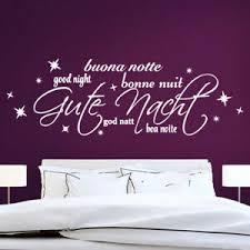 details zu wandtattoo wandsticker wandaufkleber schlafzimmer gute nacht w1320