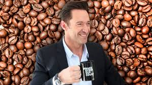Drinking For A Cause Hugh Jackmans Laughing Man Coffee