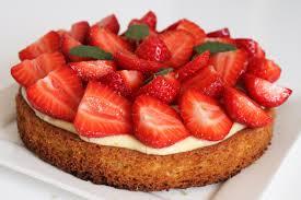 dessert aux fraises tarte aux fraises sur sablé breton surprises et gourmandises