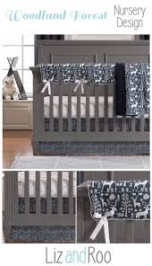 Navy And Coral Crib Bedding by Best 25 Woodland Baby Bedding Ideas On Pinterest Woodland