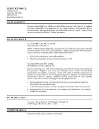 Jcpenney Sales Associate Resume Examples Description Elegant Unique Rhabcominfo Awesome Retail Sample For Rhemsturscom
