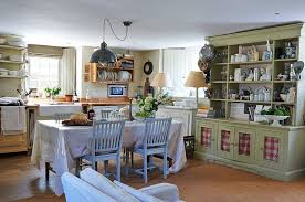 Full Size Of Dining Room White Cabinets Island And Chairs Elegant Rustic Kitchen Open Shelves