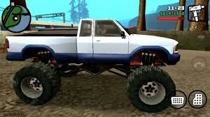 Dove Trovare La Monster Truck In Gta San Andreas - YouTube Grand Theft Auto San Andreas Review Gamesradar Subaru Legacy 1992 Monster Truck Gta Ford F350 Super Duty For Burrito Monster Sound New Handling Gta5modscom Nissan Skyline R32 4 Door Stretch Blue Thunder E250 By Pumbars Egoretz Gta Mods Maximum Destruction Infernus