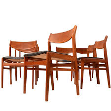 Dining Room Chairs Set Of 6 by Dux Dining Room Chairs 6 For Sale At 1stdibs