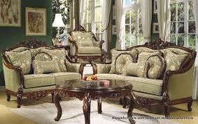 traditionelle sitzgarnitur für das wohnzimmer möbel