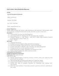 Foot Locker Sales Associate Resume | Templates At ... Sales Associate Skills List Tunuredminico Merchandise Associate Resume Sample Rumes How To Write A Perfect Sales Examples For Your 20 Job Application Lead Samples And Templates Visualcv Of Template Entry Level Objective Summary For Marketing Description Skills Resume Examples Support Guide 12