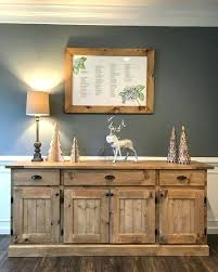 Rustic Sideboard Buffet Modern Elegant Floating Shelves In The Dining Room And Lovely