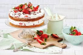 frische erdbeer joghurt torte