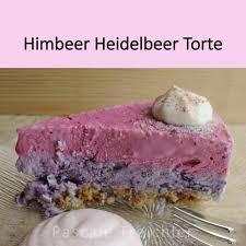 rezept himbeer heidelbeer torte garten pascale