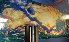 Denver International Airport Murals Painted Over by Tap Talk Bad Weather Brewing Company Wcco Cbs Minnesota