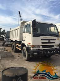 China Used Nissan Dump Truck 10tyres Tipping Truck 7 Ton Truck ...