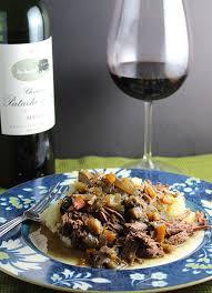 bordeaux cuisine bordeaux braised beef winophiles cooking