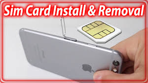How To Insert Remove Sim Card From iPhone 6 and iPhone 6 Plus