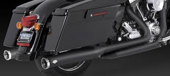 vance hines dresser duals black 10 up touring 1802 0259 by