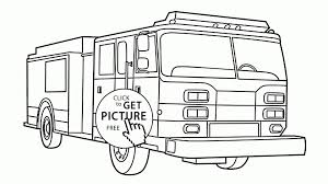 Fire Engine Coloring Pages Gallery | Free Coloring Books