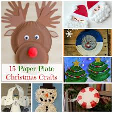 Easy And Cute Paper Plate Christmas Crafts For Preschoolers