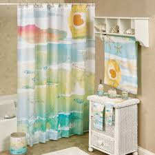 Sea Glass Bathroom Accessories by Bath Shower Curtains And Shower Curtain Hooks Touch Of Class