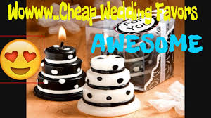 Cheap Wedding Decorations Diy by Wedding Favors Cheap Youtube
