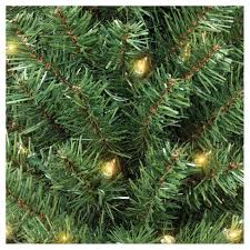 2ft Prelit Artificial Christmas Tree Alberta Spruce Clear Lights