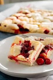 cherry pie bars cherry kuchen bars