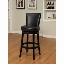 Black Leather Bar Stools by Leather Swivel Bar Stools With Back Dining Room Wingsberthouse