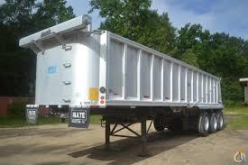 100 End Dump Truck 35 MATE AR TRIAXLE WC END DUMP TRAILER S Trailers