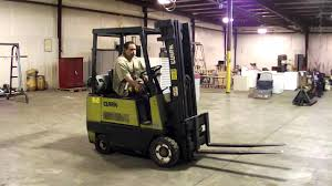 Clark Model GCS17 3500# Capacity Propane Fork Lift Truck - YouTube Clark Forklift 15000 Lbsdiesel Perkinsauto Trans Triple Stage Heftruck Elektrisch Freelift Sideshift 1500kg Electric Where Do I Find My Forklifts Serial Number Clark Material Handling Company History 25000 Lb Fork Lift Model Chy250s Type Lp 6 Forks Used Pound Batteries New Used Refurbished C500 Ys60 Pneumatic Bargain Forklift St Louis Daily Checks Procedure Youtube