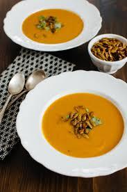 Spicy Pumpkin Butternut Squash Soup by Recipe Squash U0026 Lemongrass Soup With Spiced Pumpkin Seeds Kitchn
