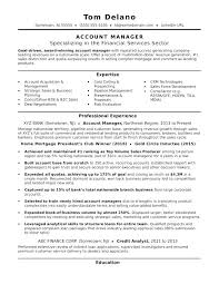 Sales Account Manager Cv Example Resume Sample Regional Accounts Expert Allowed And With
