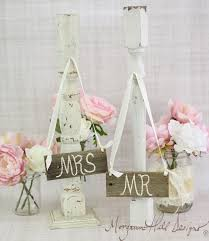 Barn Wood Mr And MrsWedding Chair Signs Bride Groom Rustic Chic Decor Item Number 130015 Posted By Morgann Hill