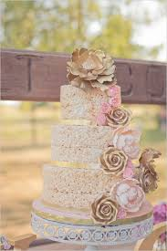 Rice Krispie Wedding Cakes