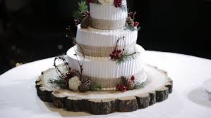 Wedding Cake With Forest Berries